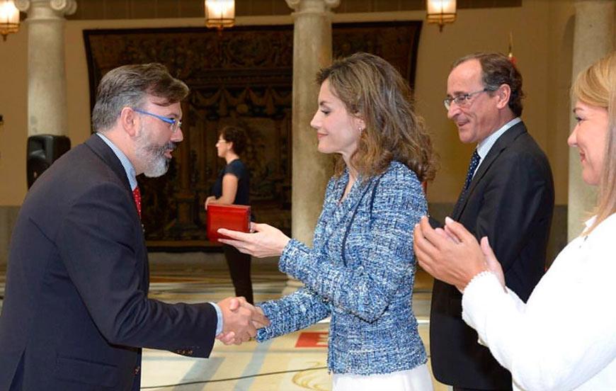 Premio Reina Letizia de Accesibilidad 2015 al Ayuntamiento de Plasencia