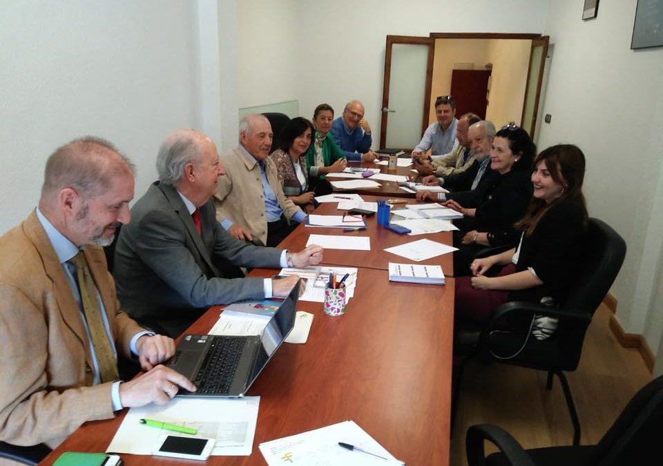Reunión Junta Directiva AFEX  de 21 de Mayo