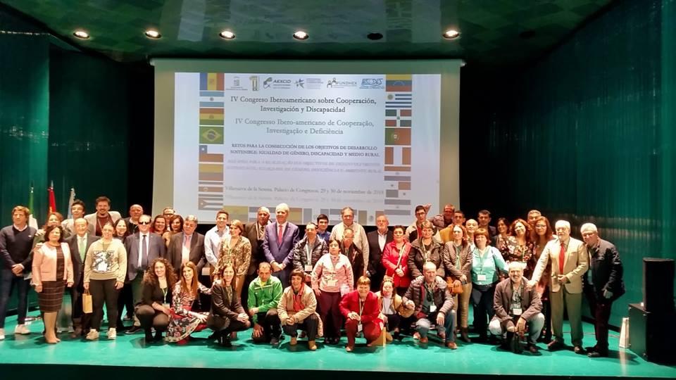IV Congreso Iberoamericano sobre Cooperación, Investigación y Discapacidad