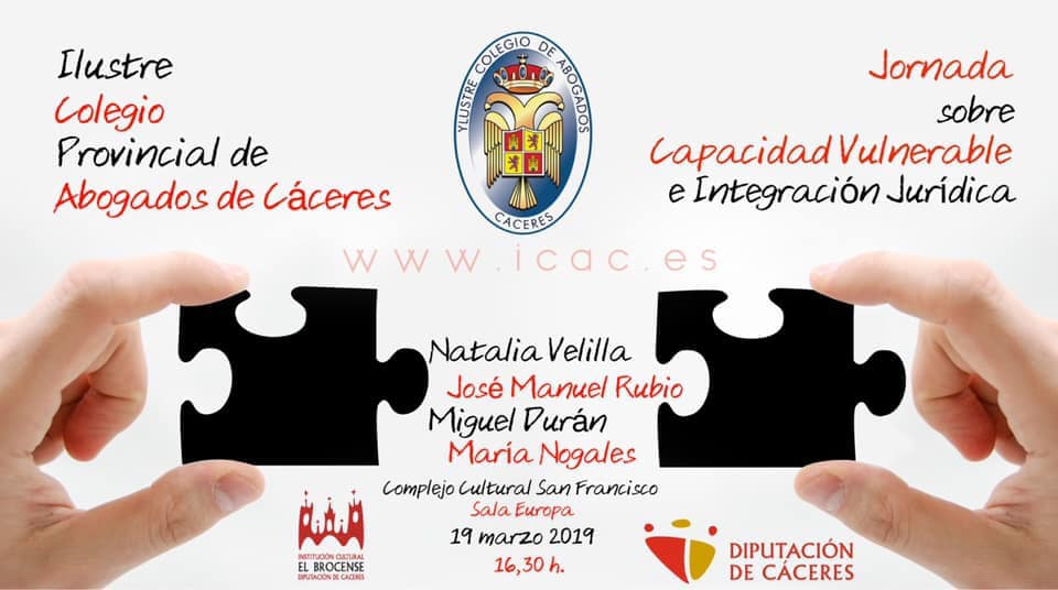 Jornada sobre Capacidad Vulnerable e Integración Jurídica