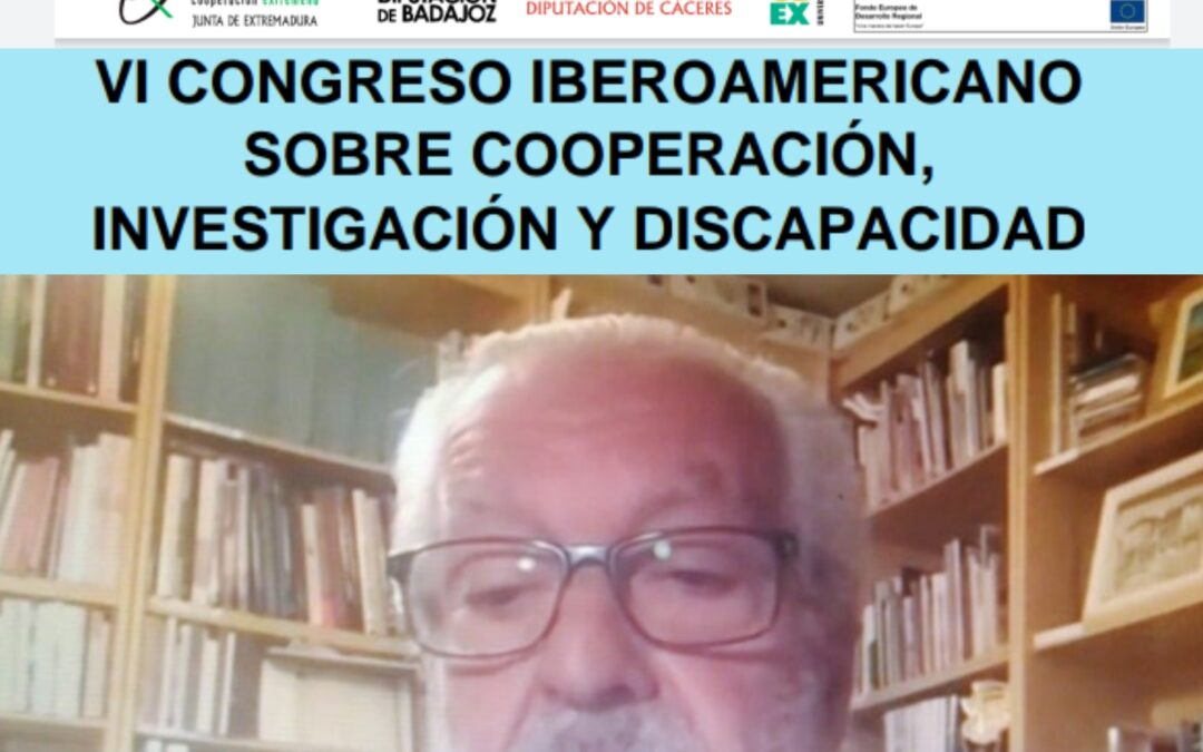 VI Congreso Iberoamericano sobre Cooperación, Investigación y Discapacidad